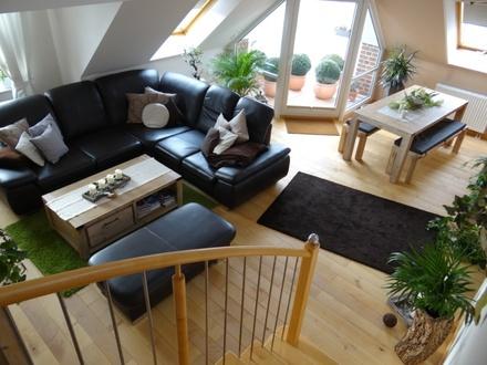 Renoviert im TOP Zustand - mit großer Dachterrasse!