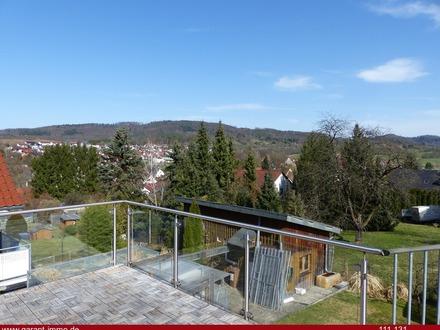 Terrassen Ausblick