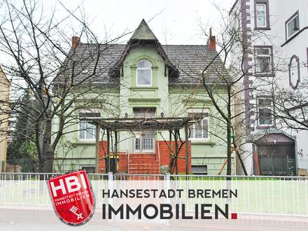 Gröpelingen / Großzügiges Mehrfamilienhaus mit 3 Wohneinheiten