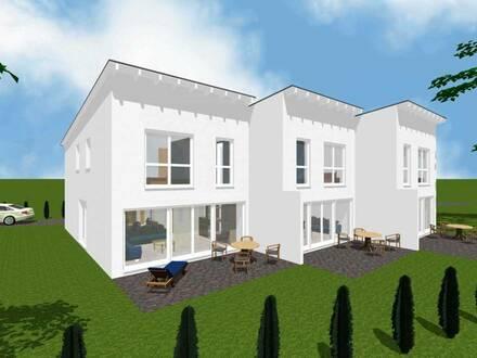 Reihenhaus in moderner, offener Bauweise Neubau in Bad Oeynhausen