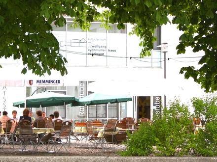 Bewirtung des Kulturzentrums mit integrierter Gaststätte und Biergarten