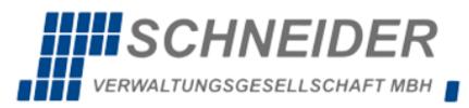 SCHNEIDER Verwaltungsgesellschaft mbH