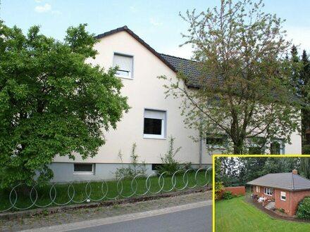 Haupthaus (EFH) + Anbau (ELW) + Bungalow