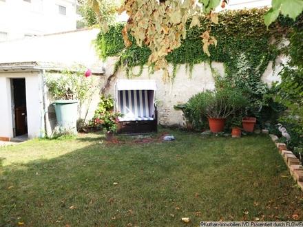 Eigentumswohnung mit Gartenidylle im Hinterhof!