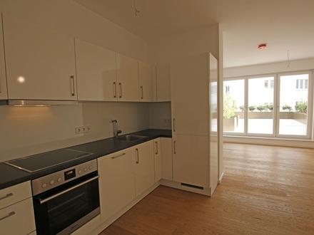 Neubau/Erstbezug: Maisonette-Wohnung mit eigenem Eingang & Terrasse