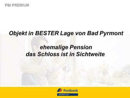 Ehemalige Pension in bester Lage von Bad Pyrmont