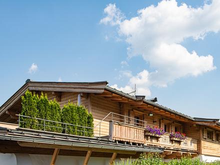 Freizeitwohnsitz - Reith b. Kitzbühel! Gesamte Landhaus-Etage über ca. 170 m² Wfl.mit 5 Schlafzimmern