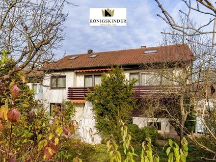 Großes Reiheneckhaus mit herrlichem Garten und Garage in Deizisau - ideal für die große Familie!