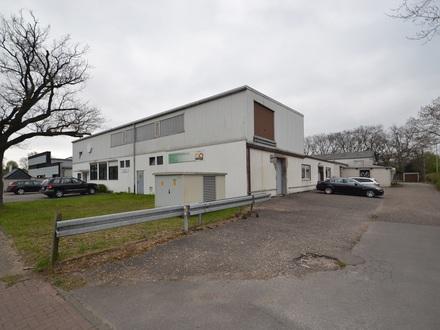 Teilbare Halle für Produktion mit Büroräumen