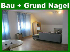 Provisionsfrei! Günstige Etagenwohnung mit Garage und Gartenmitbenutzung am Zentrumsrand