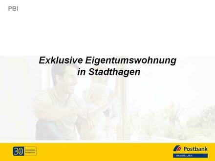 !Für Kapitalanleger! Großzügig geschnittene Wohnung im Villenviertel von Stadthagen