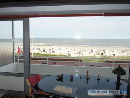 Wohnung mit direktem Blick auf die Nordsee