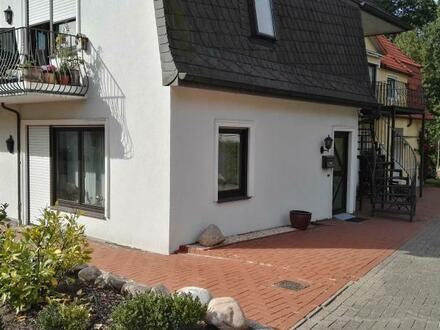 Ebenerdige 2-Zimmer-ETW mit Keller, Garage und großzügiger Terrasse