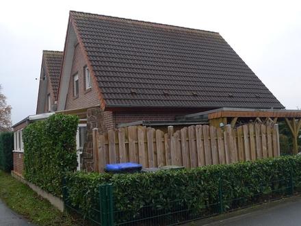 Gepfl. kleine DHH mit Granitböden, Wintergarten, Vollk. und Carport 33415 Verl