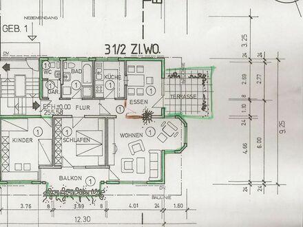 4 Zi-Wohnung 85 m² TG