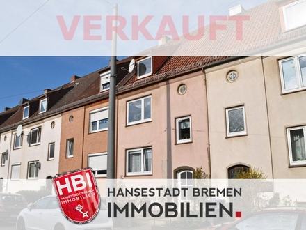 Walle / Gut aufgeteiltes Reihenhaus mit drei Wohnungen in zentraler Lage