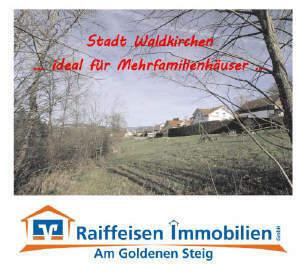 Baugrundstücke in der Stadt Waldkirchen