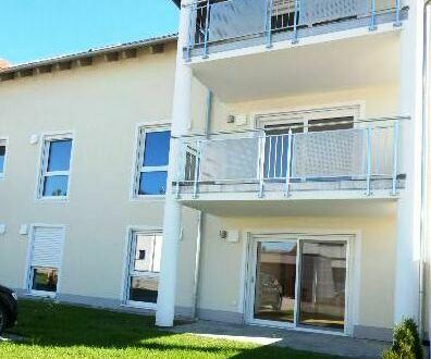 Erstbezug: Schicke 3 Zimmer Wohnung mit Terrasse und Gartenanteil in Passau-Neustift zu vermieten!