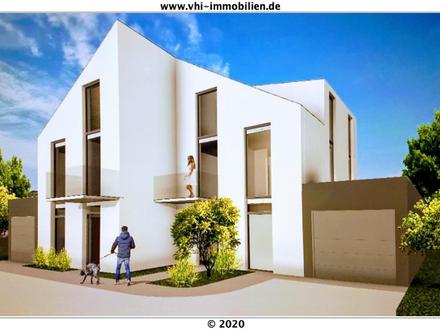 Frankfurt- Sossenheim: Projektierte Architekten Design Haushälfte, mit einer Luxus Ausstattung!