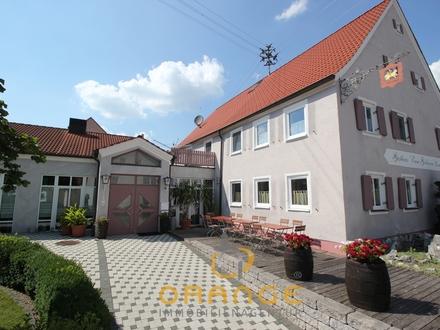 ***Landgasthof mit Saal und großem Parkplatz sowie Wohnung und Austragshaus!!!***