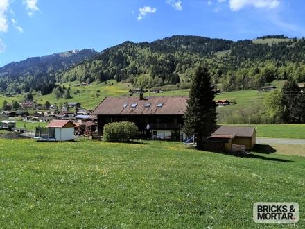 3-Zimmer-DG-Wohnung in Gunzesried im Oberallgäu