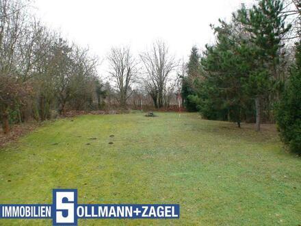 Großes Baugrundstück in einem Mischgebiet u. teilweise in einem Gewerbegebiet in Erlangen-Bruck