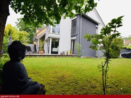 Formidable Doppelhaushälfte mit atemberaubender Terrasse und Garten