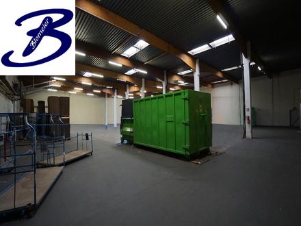 Produktions-/Lagerhalle mit Büro in Melle zu vermieten (Teilanmietung möglich)