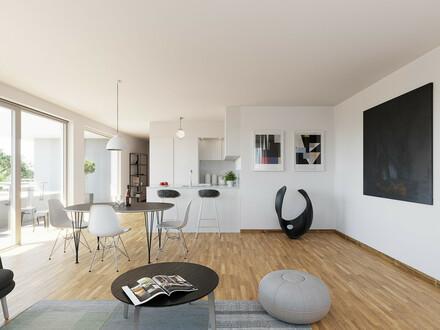 2-Zimmer-Penthouse mit 33m² Dachterrasse