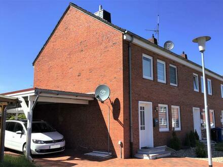 Großes Glück für die kleine Familie! Saniert und renoviertes Reihenendhaus zentral in Wittmund