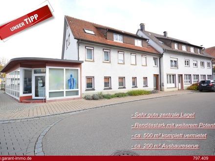 Renditestarkes Wohn- und Geschäftshaus in zentraler Lage!