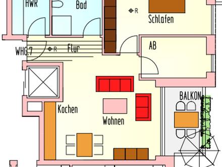 Schöne 2 Zimmerwohnung mit Balkon in toller Lage von Bloherfelde!