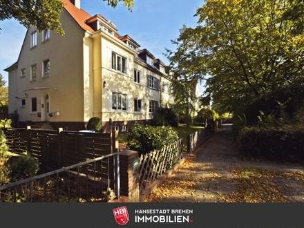 Schwachhausen / Exklusive 5-Zimmer Wohnung mit eigenem Garten