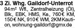 3 Zi. Whg. Gaildorf-Unterrot