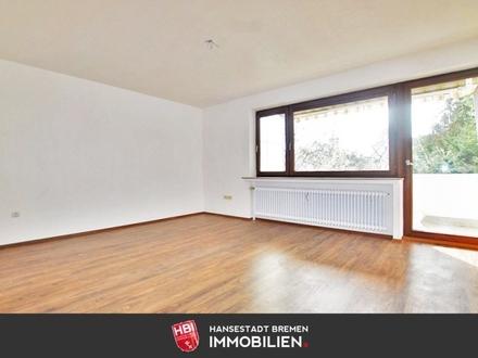 Kapitalanlage: Schwachhausen / Modernisierte 2-Zimmer-Wohnung mit Südbalkon