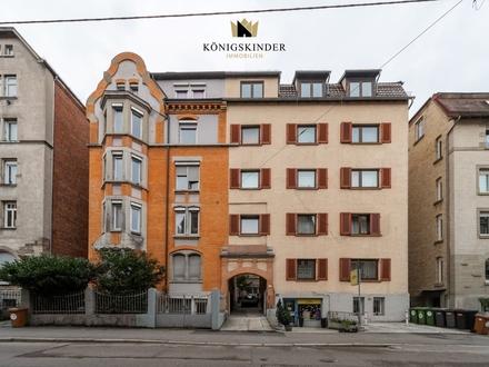 Helle 3-Zimmer Wohnung in der Nähe vom Stuttgarter Zentrum