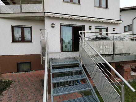 Schöne, gepflegte 3-ZKBB-Eigentumswohnung in einem sehr angenehmen Wohngebiet von Groß-Rohrheim.