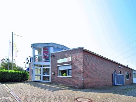 Top Produktionhalle mit schönem Büro