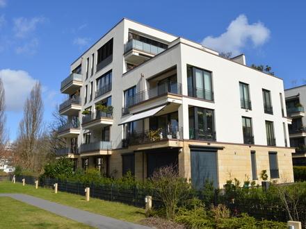 Wohnen auf der Uhlenhorst im Averhoff-Park - Hochwertige 2-Zimmer-Neubauwohnung mit West-Balkon