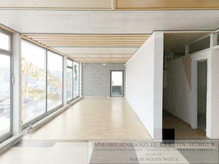 BA-Laubanger: Attraktive Gewerbefläche mit großer Fensterfront (z.B. Büro, Ausstellung, Verkauf) in stark frequentierter…