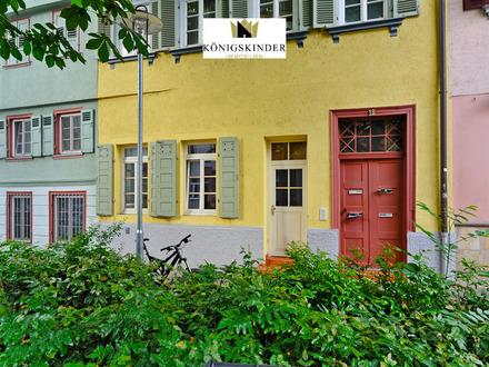 2,5 Zimmer-EG-Eigentumswohnung mit Charme und Terrasse, im historischem Zentrum von Esslingen