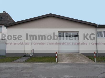 ROSE IMMOBILIEN KG: Kalthalle mit Rolltor und Büroflächen in Herford!