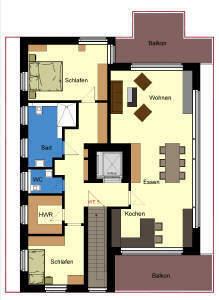 3-Zimmer-Neubauwohnung in Heek - Erstbezug -