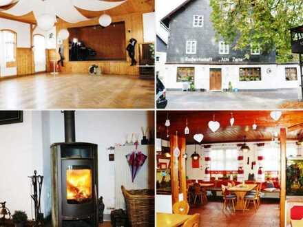 Goldgrube in Oberfranken! Traditionsgasthaus mit Gaststube & Saal & Biergarten & Betriebswohnung