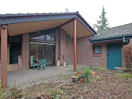 """Gemütliches Ferienhaus im Erholungsgebiet """"Haddorfer Seen"""""""