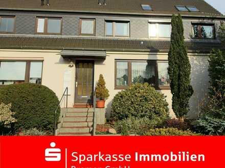 Gemütliche Wohnung mit traumhaften Balkon und Stellplatz in ruhiger Wohnlage von Burg-Grambke