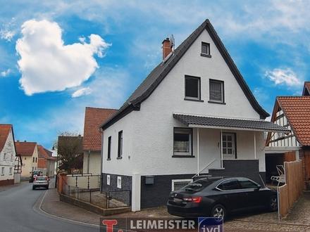 Freistehendes Haus zum Preis einer Wohnung in Geiselbach