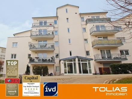 Volltreffer - Gut vermietete 3-Zimmer-Wohnung mit Balkon und Duplex-Stellplatz als Kapitalanlage!