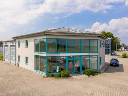 Kapitalanlage - Bürogebäude mit Werkstatthalle