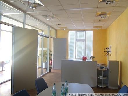 Blick in ein Büro